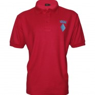 Red Polo Shirt Blue Crown