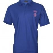 Royal Polo Shirt Purple Crown